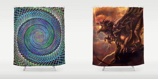 Fantasy shower curtains for Fantasy shower curtains