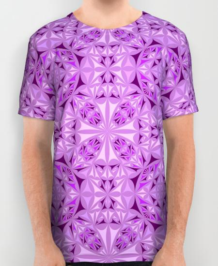 Symmetry Mens Printed Shirt