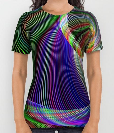 Imagination Womens Printed Shirt