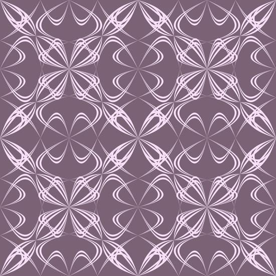 Calligraphy pattern Art Print