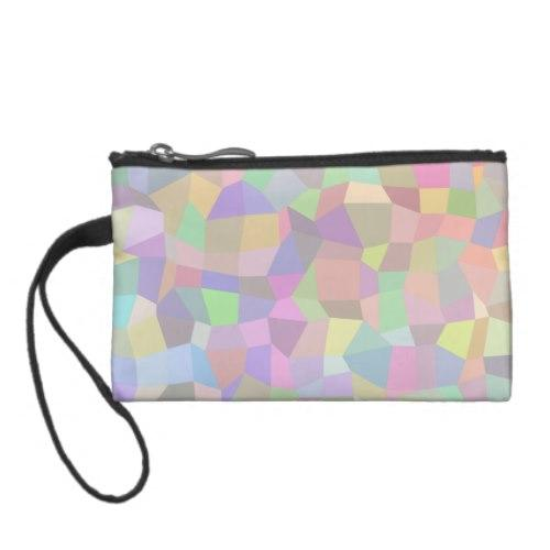 Multicolor mosaic background Coin Purse