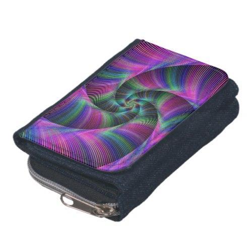 Spiral tentacles Denim Wallet