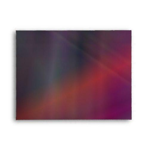 Dark abstract colors A2 Envelope