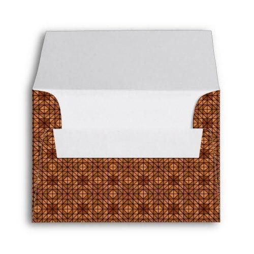 Light blue mosaic tiles A2 Envelope