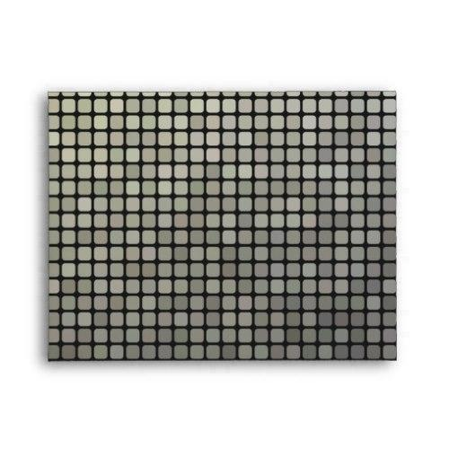 Grey pixel pattern A2 Envelope