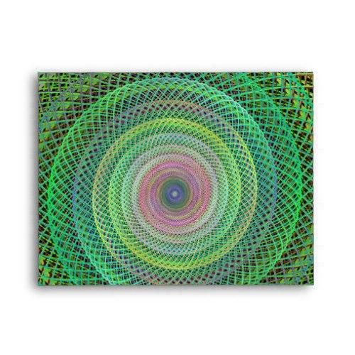 Multicolor fractal A2 Envelope