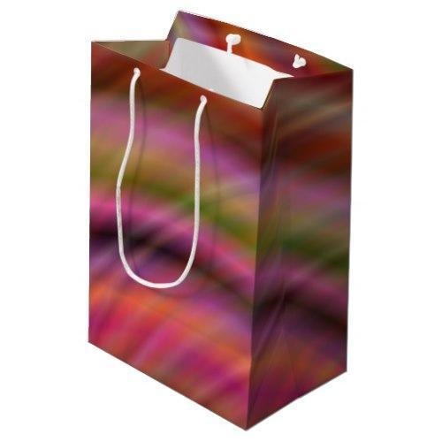 Colorful abstract Medium Gift Bag