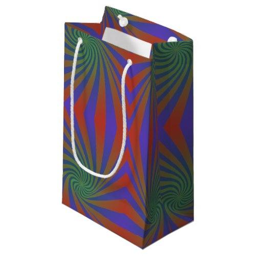 Repating spiral pattern Small Gift Bag