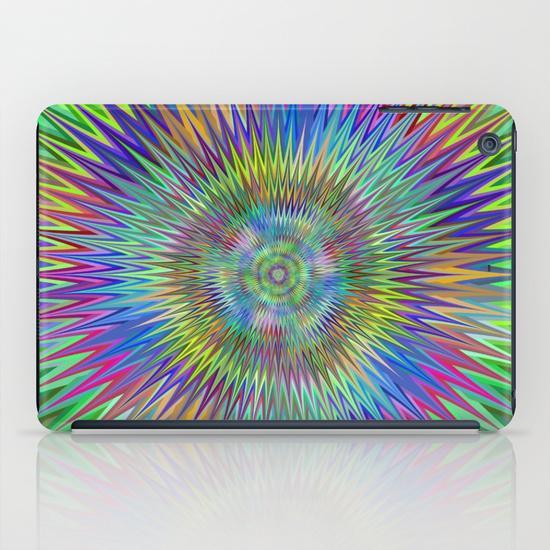Hypnotic stars iPad Mini Case
