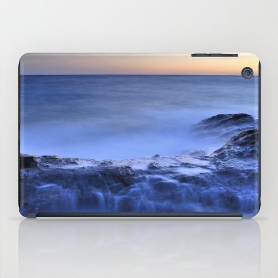 Blue seaside iPad Mini Case
