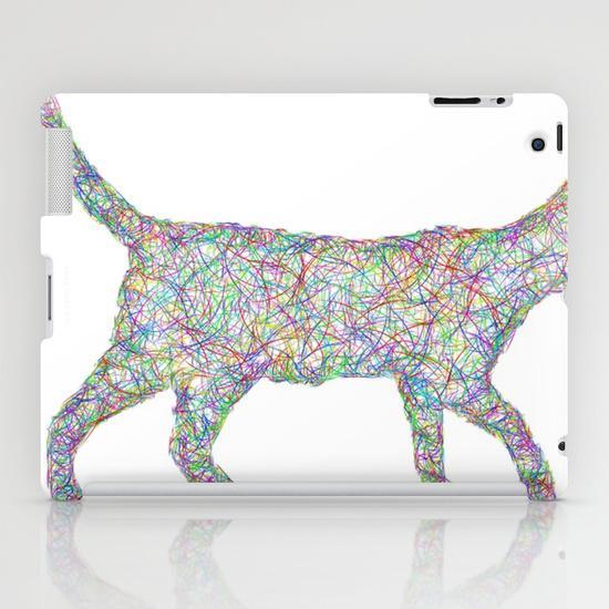 Colorful dust kitten iPad Mini Case