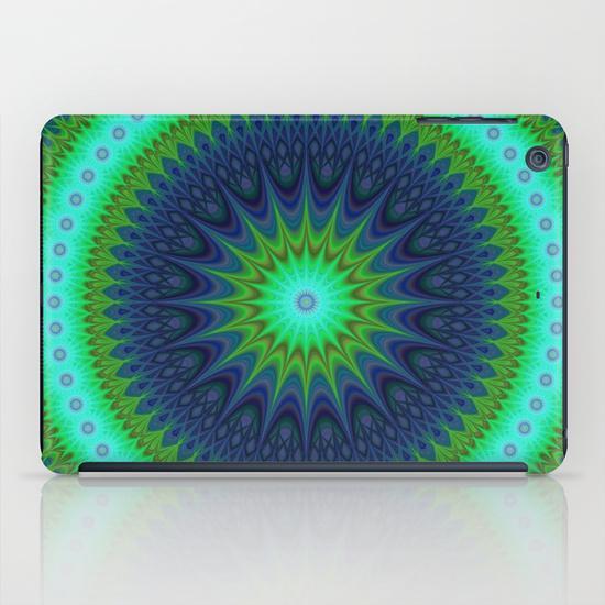 Winter mandala iPad Mini Case