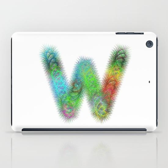 Letter W iPad Mini Case