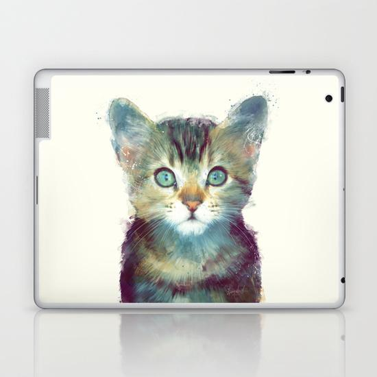 Cat - Aware iPad Skin