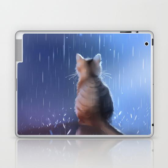 Under rainy days like these iPad Skin