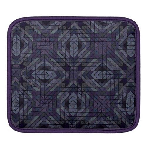 Geometric tiles repeat iPad Sleeve