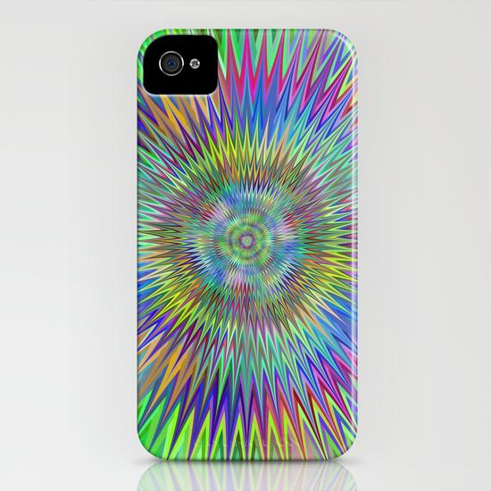 Hypnotic stars iPhone 4, 4S Case
