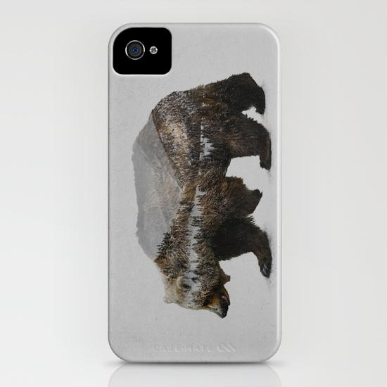 The Kodiak Brown Bear iPhone 4, 4S Case