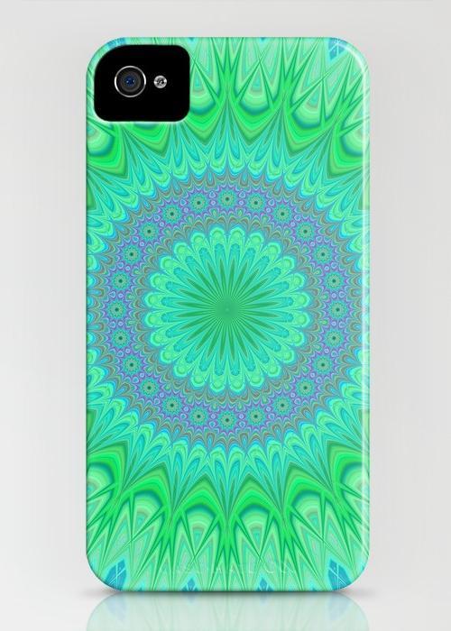 Crystal mandala iPhone 4, 4S Case