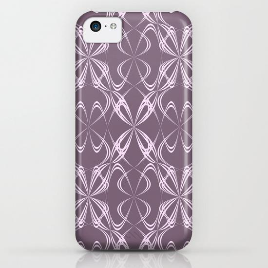 Calligraphy pattern iPhone 5C Case