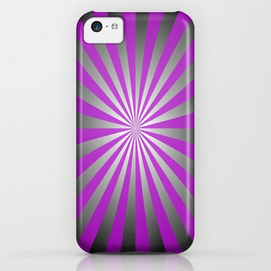 Purple burst iPhone 5C Case