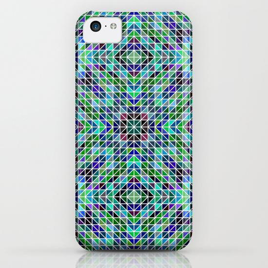Kaleidoscope mosaic iPhone 5C Case
