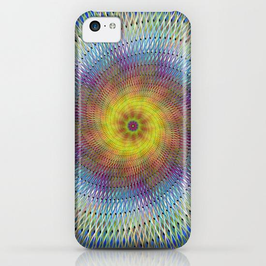 Psychedelic spiral iPhone 5C Case