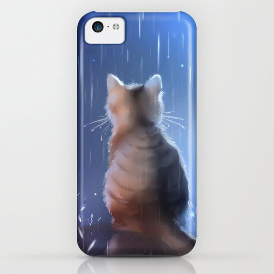 Under rainy days like these iPhone 5C Case