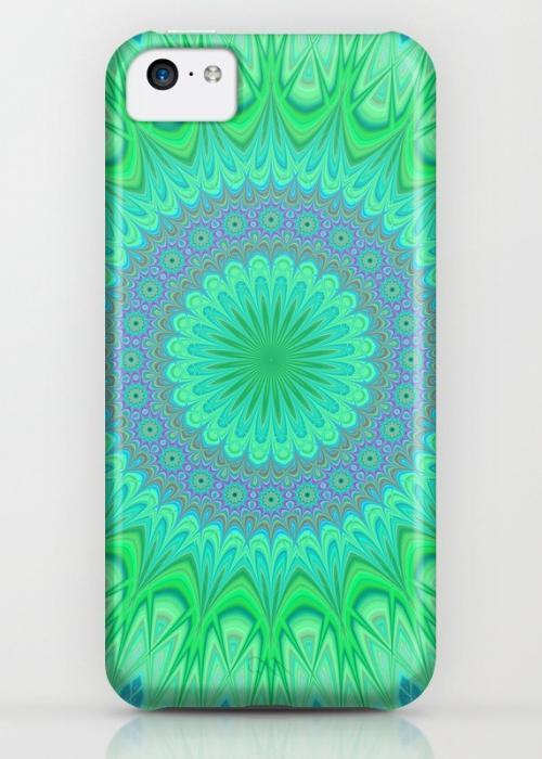 Crystal mandala iPhone 5C Case