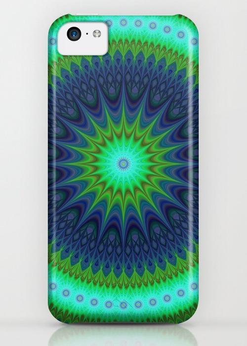 Winter mandala iPhone 5C Case
