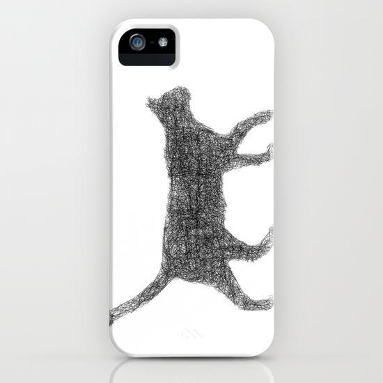Dust kitten iPhone 5, 5S Case