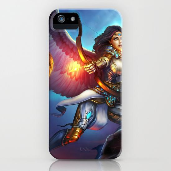 Warrior angel iPhone 5, 5S Case
