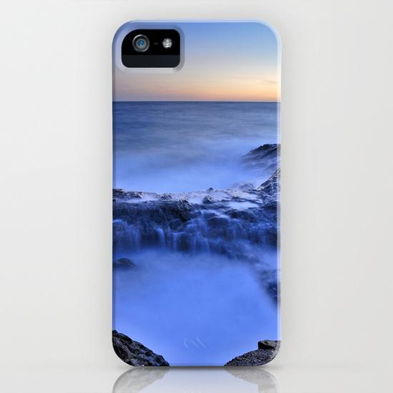 Blue seaside iPhone 5, 5S Case