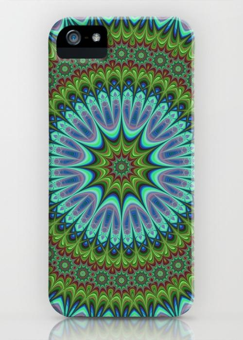 Mandala iPhone 5, 5S Case