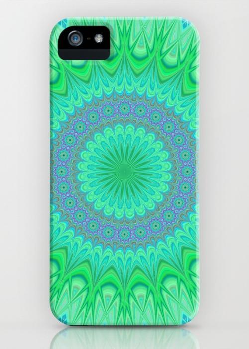 Crystal mandala iPhone 5, 5S Case