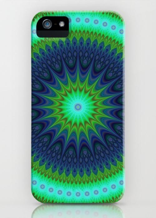 Winter mandala iPhone 5, 5S Case