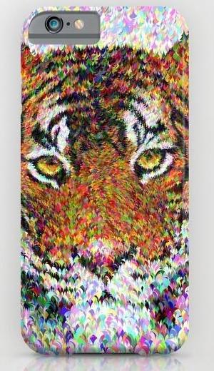 Tiger head iPhone 6 Slim Case