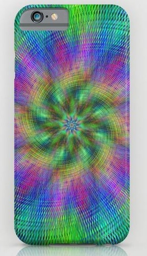 Multicolor abstract iPhone 6 Slim Case