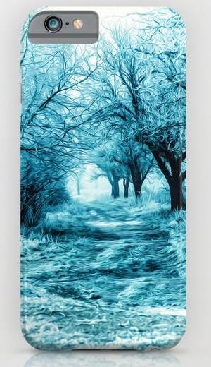 Winter path iPhone 6 Slim Case