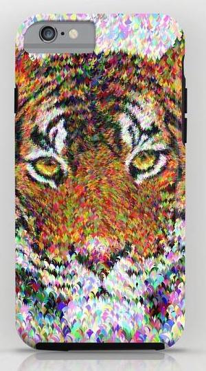 Tiger head iPhone 6 Tough Case