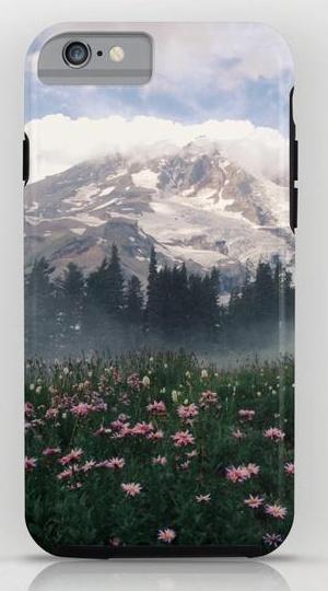 Mt Rainier iPhone 6 Tough Case