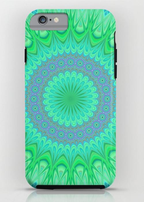 Crystal mandala iPhone 6 Tough Case
