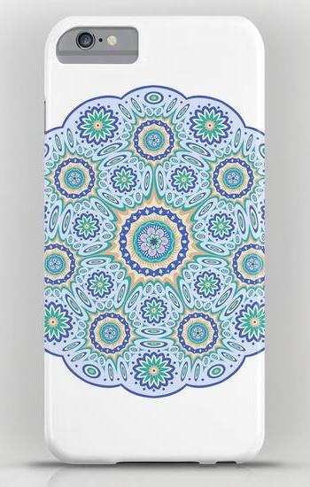 Round ornamental geometric pattern iPhone 6 Plus Slim Case