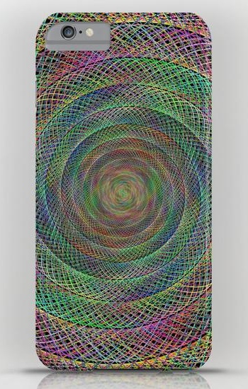 Multicolor fractal iPhone 6 Plus Slim Case
