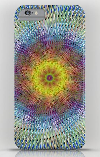 Psychedelic spiral iPhone 6 Plus Slim Case