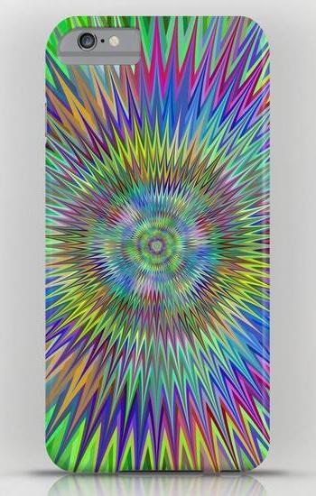 Hypnotic stars iPhone 6 Plus Slim Case