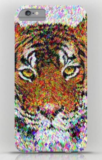 Tiger head iPhone 6 Plus Slim Case