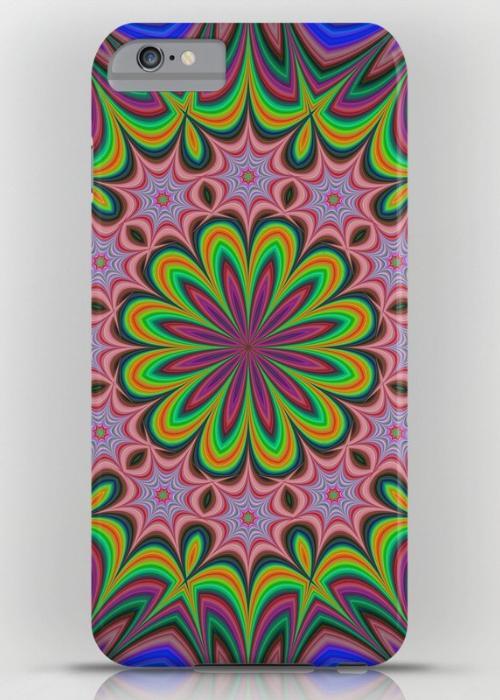 Flower iPhone 6 Plus Slim Case