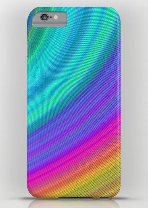 Rainbow iPhone 6 Plus Slim Case