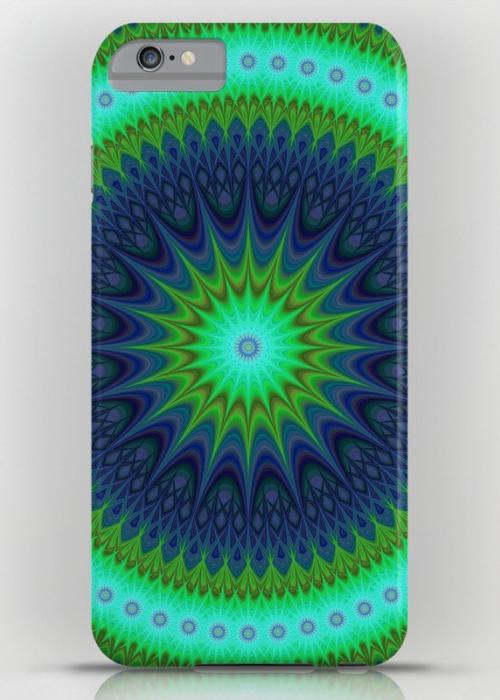 Winter mandala iPhone 6 Plus Slim Case
